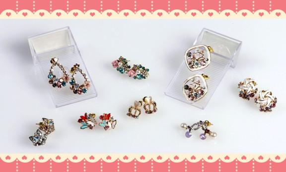 $19原廠kawaii耳環,女仕們襯衫必備-最小買兩對-$38(原價$100)